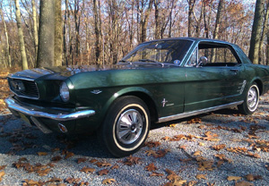 Classic mustang appraisal in NJ