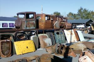 Antique Car Parts, appraised